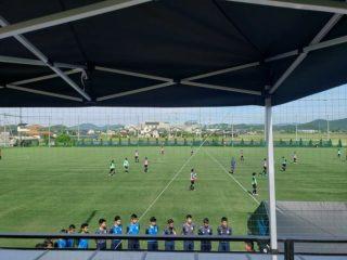 昨季中国プリンスリーグ優勝の岡山学芸館へトレーニング参加