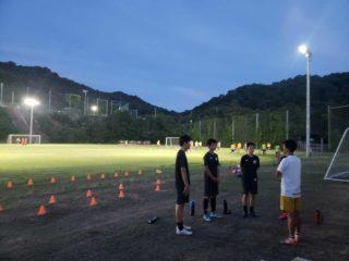 昨年香川県王者の大手前高校へトレーニング参加